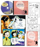 Math Mystery Theater: Multiplication Maniac Book and CD - Save $25.00