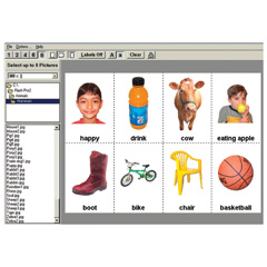 Flash! Pro  - Teaching Pic2 Software - Create Photo Communication Boards QUICKLY!