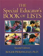 Special Education Teacher's Book of Lists