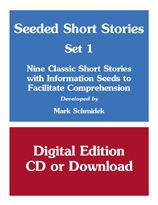Classic Short Stories- Set 1 (Stories with Information Seeds) - Downloadable Product