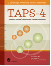 Test of Auditory Processing Skills (TAPS-4) - NEW 2018 publication