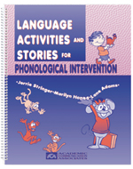 Language Activities and Stories for Phonological Intervention